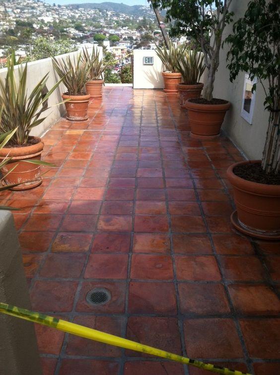35 disenos de pisos para terrazas 14 curso de - Azulejos de terraza ...