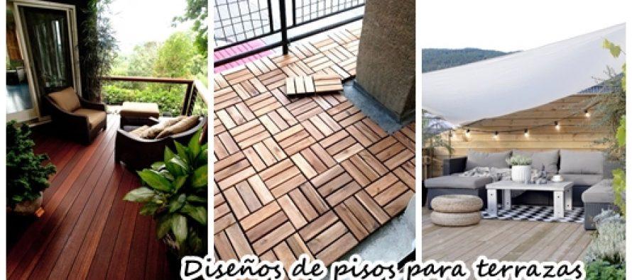 35 dise os de pisos para terrazas curso de organizacion - Diseno de pisos ...