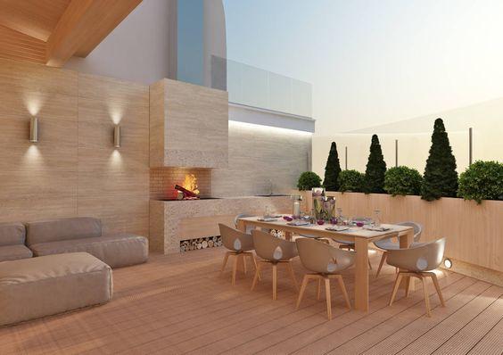 35 disenos de pisos para terrazas 5 curso de Decoracion casas modernas elegantes