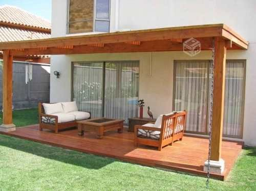 35 disenos de pisos para terrazas 9 curso de Fotos de patios de casas pequenas