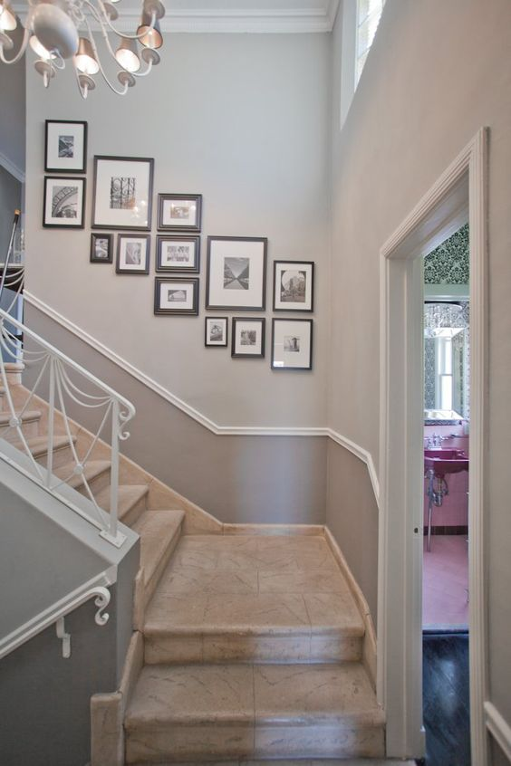 35 ideas para decorar el area de las escaleras 27 for Ideas para decorar escaleras de interior