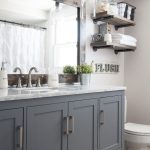 35 ideas para decorar tu baño con el color gris