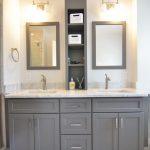 35 ideas para decorar tu baño con el color gris