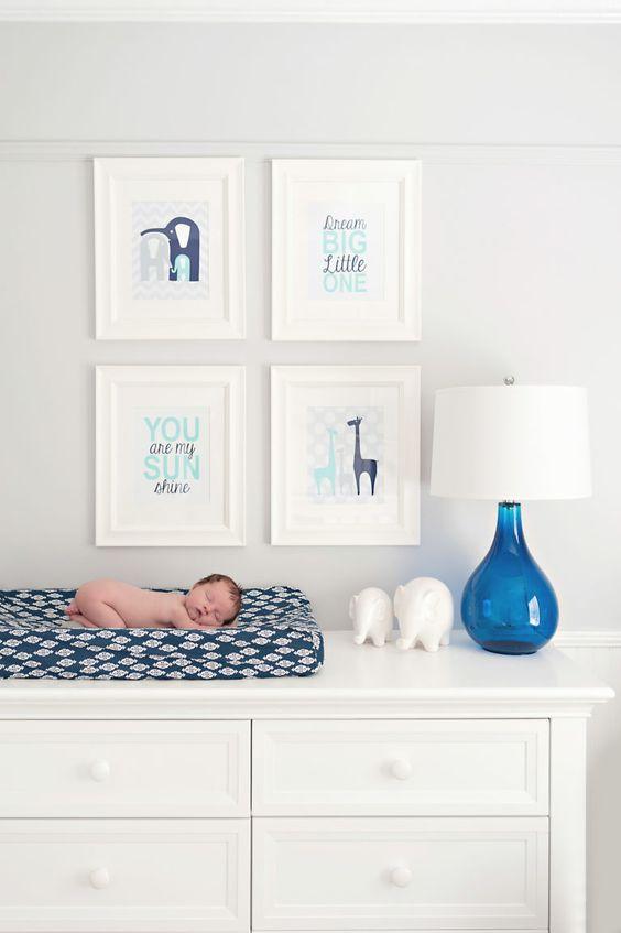 35 opciones para decorar una habitacion para bebe nino 10 - Decorar una habitacion de bebe ...