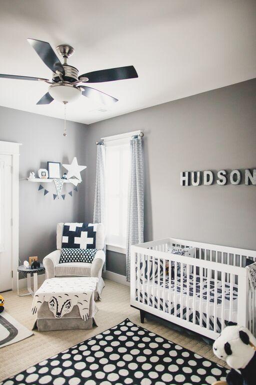 35 Opciones para decorar una habitación para bebé niño