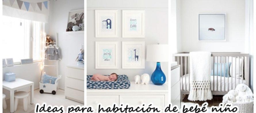 35 opciones para decorar una habitaci n para beb ni o - Habitacion bebe nino ...
