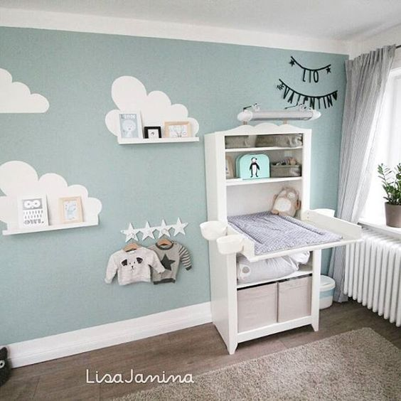 35 opciones para decorar una habitacion para bebe nino 9 curso de organizacion del hogar y. Black Bedroom Furniture Sets. Home Design Ideas