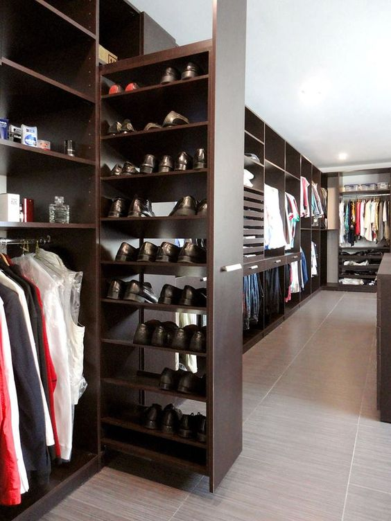 36 ideas para montar y decorar tu closet 19 curso de for Modelos de walk in closet