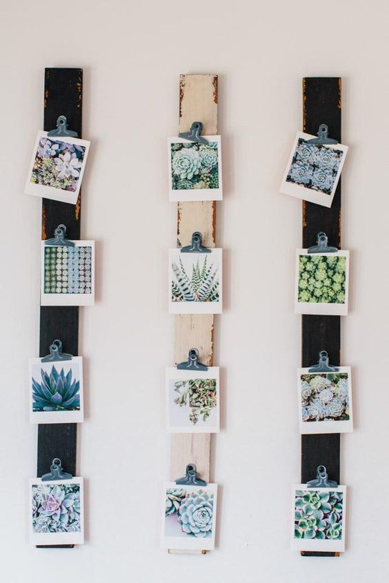 37 Ideas To Use All 4 Bahtroom Border Tile Types: 37-ideas-geniales-para-decorar-con-fotografias (18