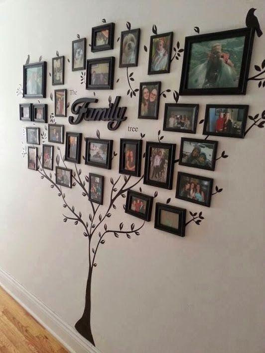 37-ideas-geniales-para-decorar-con-fotografias (22) - Curso de ...