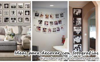 37 ideas geniales para decorar con fotografías