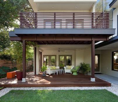 Decoraci n de exteriores con pisos de madera curso de for Pisos imitacion madera para terrazas
