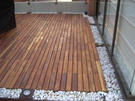 Decoraci n de exteriores con pisos de madera curso de for Pisos de madera para exteriores