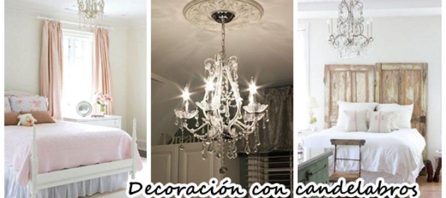Decoración de habitaciones con candelabros