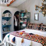 Decoración de interiores con detalles bordados