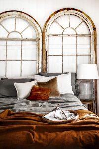 Decoración de interiores con detalles de terciopelo