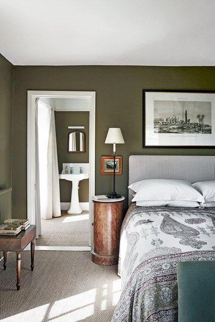 Decoracion de interiores en tono verde militar 19 for Decoracion de interiores verde