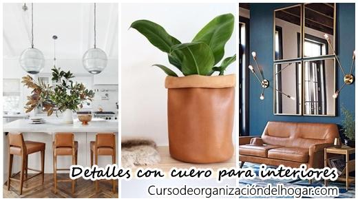 Detalles increibles para decorar tu casa con cuero curso - Detalles para decorar la casa ...