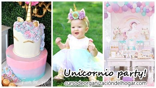 Fiesta Infantil De Unicornio