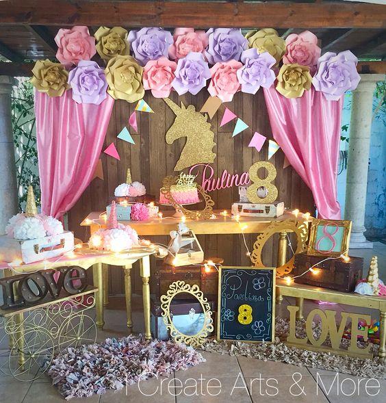 Ideas para organizar una fiesta de unicornio