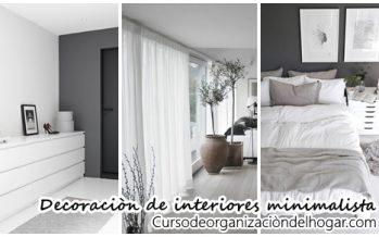 Inspiración para decorar interiores con un estilo minimalista