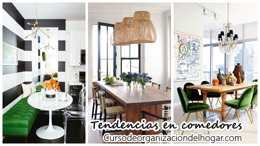 Tendencias y tips de decoraci n para comedores curso de - Tendencias y decoracion ...