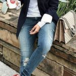 30 Outfits para ir vestida con jeans a tu trabajo