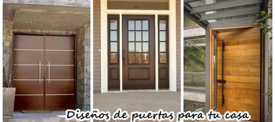 30 puertas de madera que har n lucir la entrada de tu casa for Puertas de madera para interior de casa