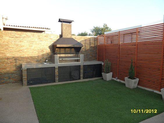 Fotos de patios con asadores modern patio outdoor - Ideas para patios ...