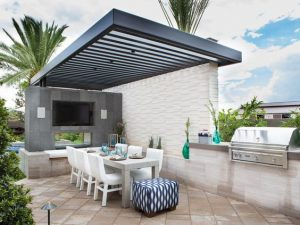31 Ideas para montar asadores en tu patio