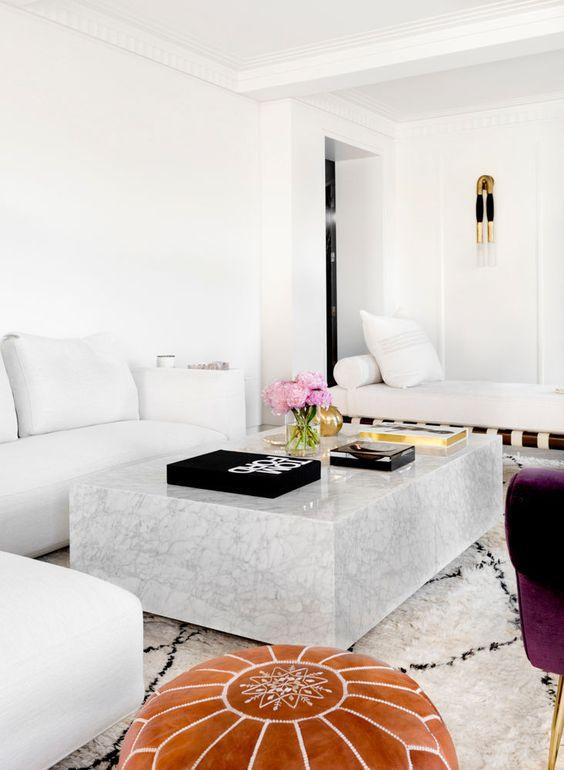 33 mesas de centro modernas para tu sala 10 curso de - Mesas de centro modernas para sala ...