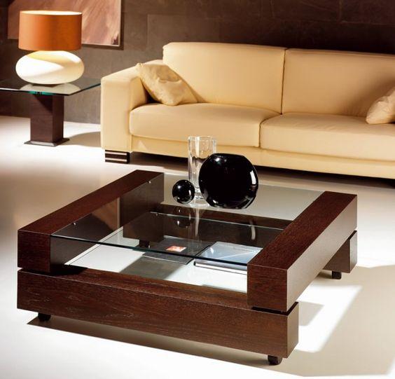 33 mesas de centro modernas para tu sala 14 curso de - Mesas de centro de sala modernas ...