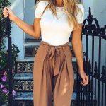 34 Outfits con pantalones estilo palazzo