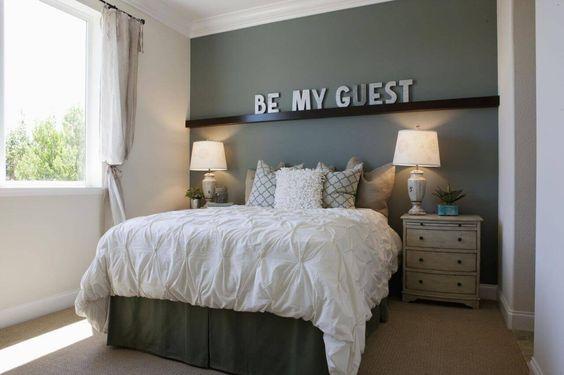 37-ideas-para-decorar-un-cuarto-para-visitas (28) - Curso de ...
