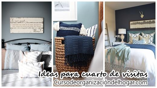 37 Ideas para decorar un cuarto para visitas - Curso de Organizacion ...