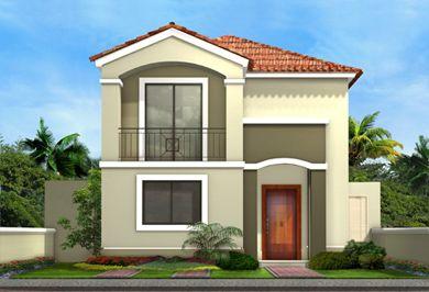 diseos interiores y exteriores de casas de dos pisos