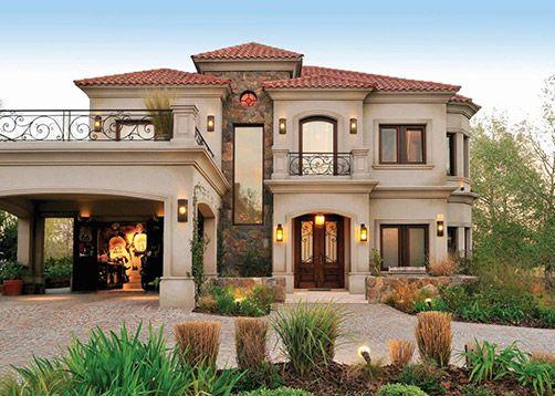 42 disenos interiores y exteriores de casas de dos pisos for Disenos de pisos para casas