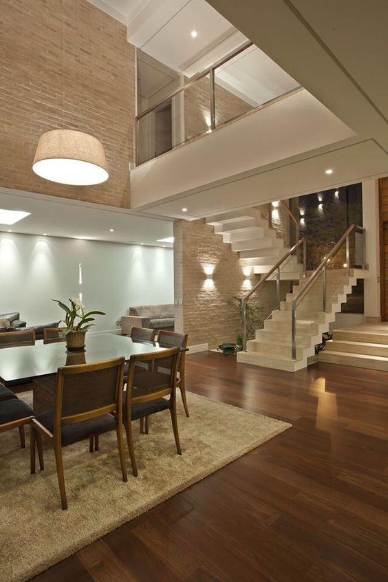42 disenos interiores y exteriores de casas de dos pisos for Pisos interiores