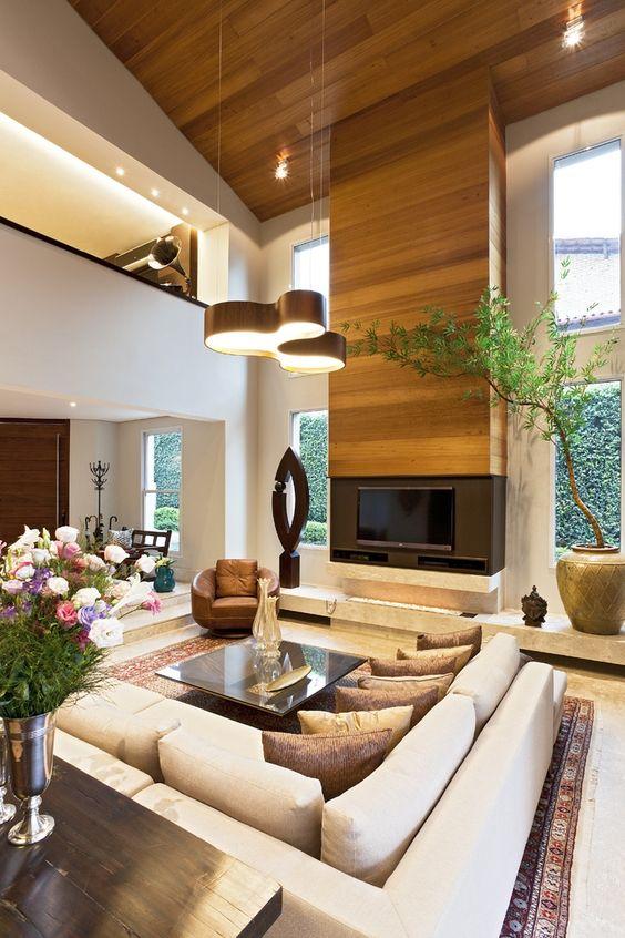 42 disenos interiores y exteriores de casas de dos pisos for Pisos para interiores casas