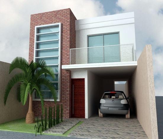 42 disenos interiores y exteriores de casas de dos pisos for Fachadas de casas bonitas y modernas de dos pisos