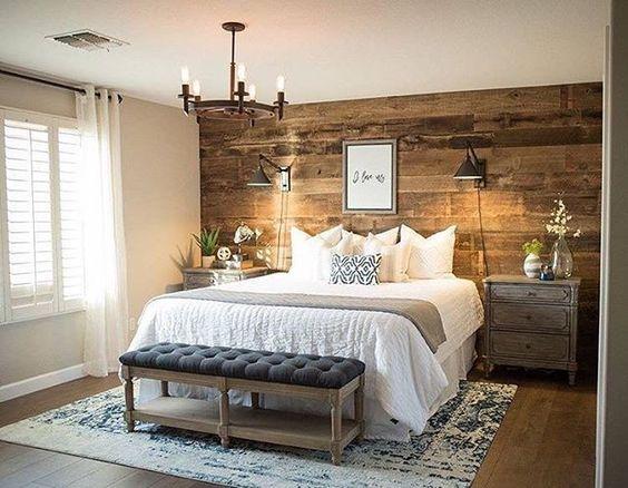Acentua las paredes de tu recamara con estas 36 ideas 36 for Decoracion de paredes de recamaras