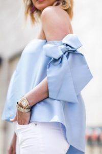 Blusas con lazo ¡Una tendencia mas que te encantará!