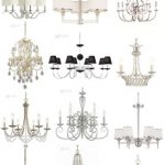 Diseños de baños super elegantes con candelabros