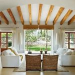 Diseños de sofás de mimbre para interior y exterior