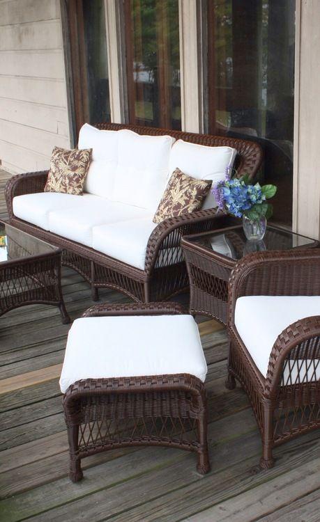 Disenos de sofas de mimbre para interior y exterior 20 - Sofas de mimbre ...