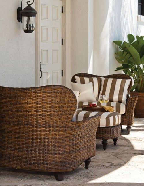 Disenos de sofas de mimbre para interior y exterior 21 - Sofas de mimbre ...