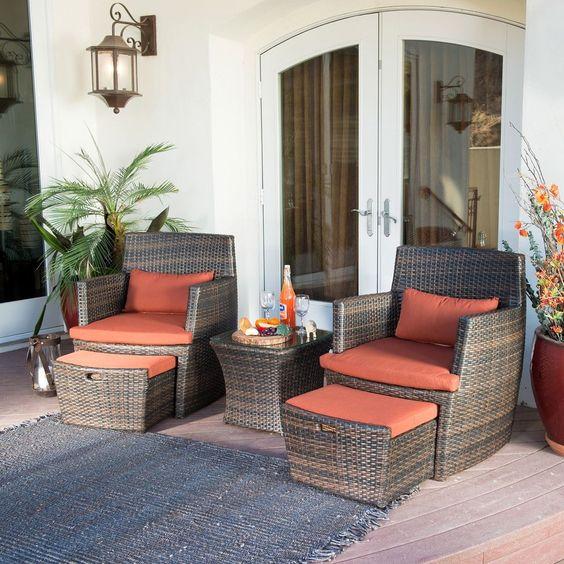 Disenos de sofas de mimbre para interior y exterior 26 - Sofas de mimbre ...