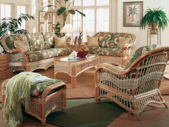 Disenos de sofas de mimbre para interior y exterior 3 curso de organizacion del hogar - Sofa de mimbre ...