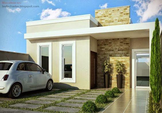Fachadas de casas sencillas de un piso curso de for Fachadas de casas de dos pisos sencillas