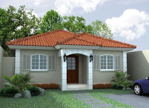 Fachadas de casas sencillas de un piso curso de organizacion del hogar y decoracion de interiores - Fachadas de casas de un piso ...